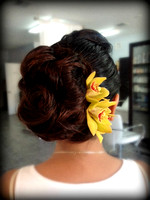 sunset wedding hairstyles