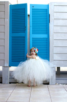 Beach wedding flower girl Fl Keys